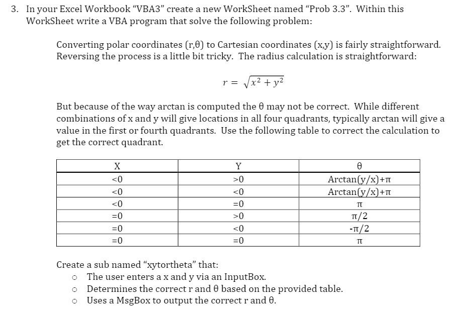 Solved: In Your Excel Workbook