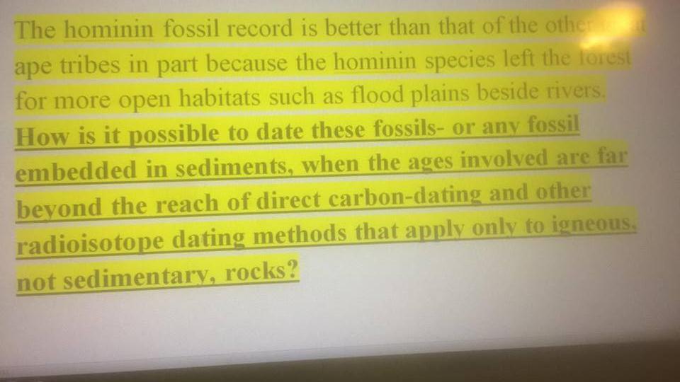 radioisotoper dating fossiler bedste dating hjemmesider sverige
