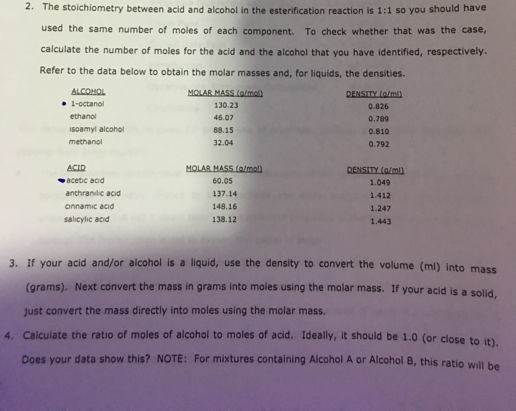 alcohol density calculator