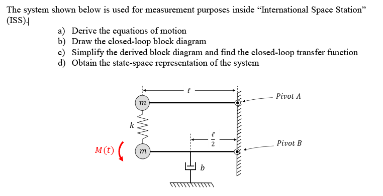 Solved The System Shown Below Is Used For Measurement Pur