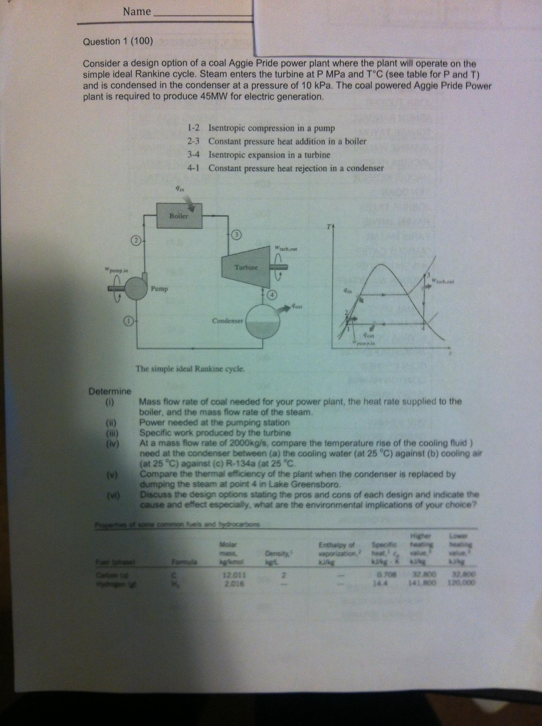 Question 1 (100) Consider A Design Option Of A Coa...   Chegg.com