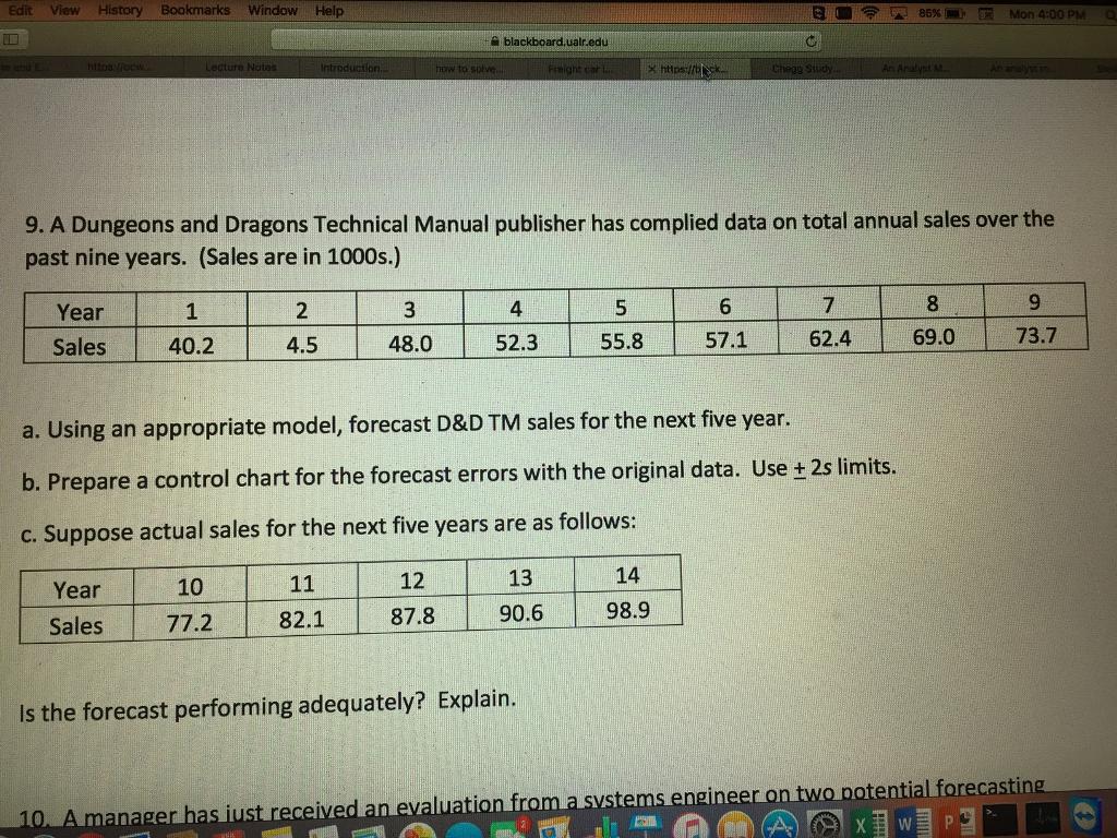 Edit View History Bookmarks Window Help 85% blackboard, ualredu https llb  ck-,