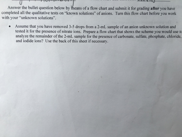 Solved Answer The Bullet Question Below By Means Of A Flo