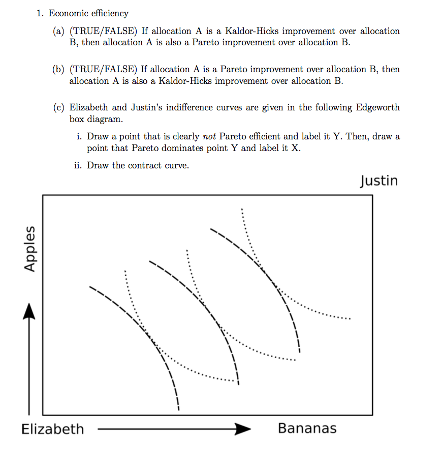 pareto efficiency economics essay This paper develops several optimization principles relating the fundamental  concepts of pareto efficiency and competitive equilibria the beginning point for.