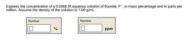 how to find concentration of a solution in g ml