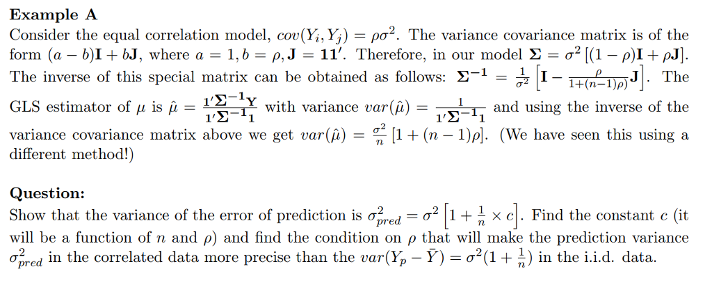 Calculating the variance covariance matrix using stock prices.