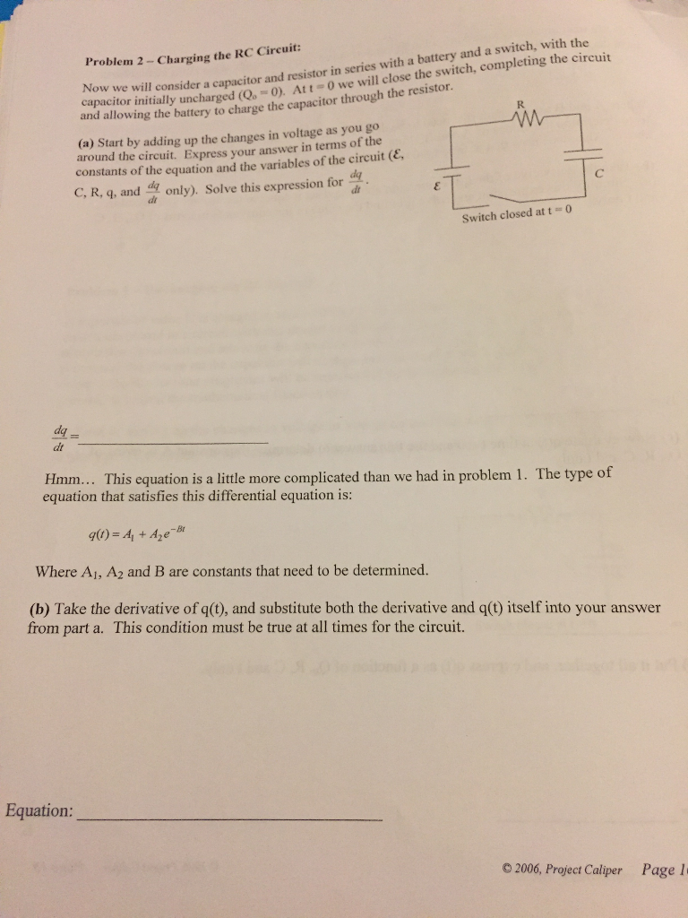 Solved Worksheet 4 Exploring Capacitors Inductors And Re Circuits With Multiple Batteries Please Answer Tho Cheggcom Resistors In A Review Of Circuit Elements The Voltage Changes Across Battery Resistor