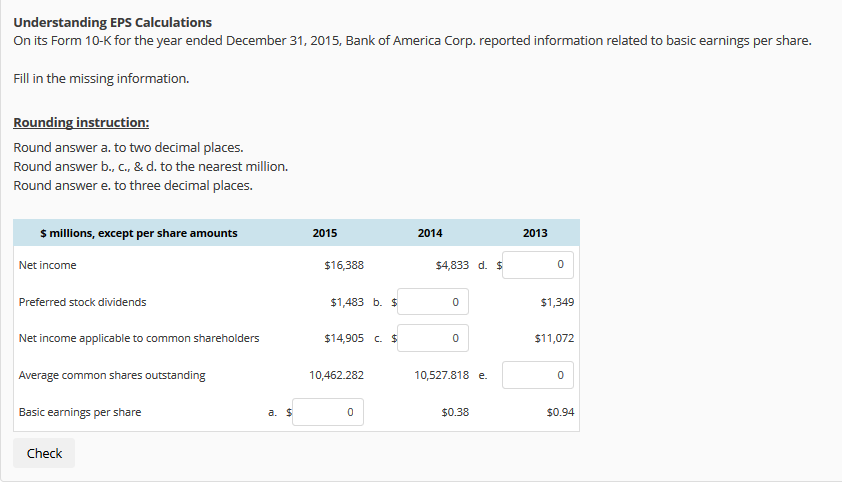 bank of america form 10-k