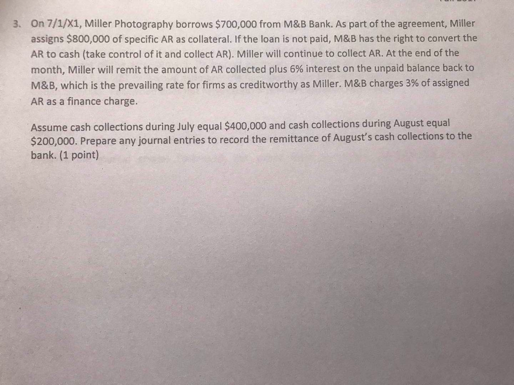 Accounting archive october 29 2017 chegg on 71x1 miller photography borrows 700000 from mb bank as fandeluxe Image collections
