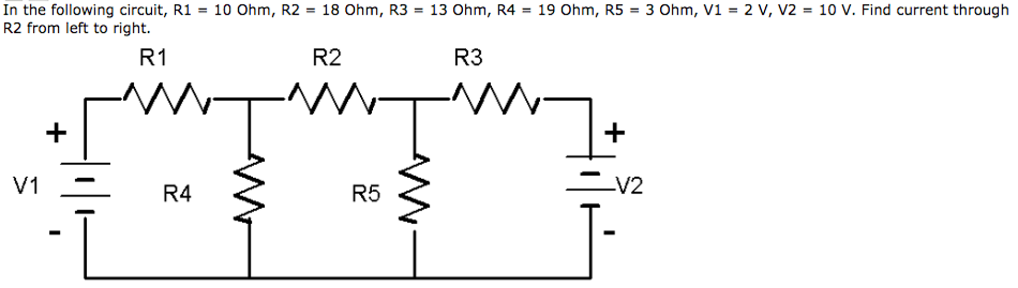 Electrical engineering archive october 30 2016 chegg in the following circuit r1 10 ohm r2 18 ohm fandeluxe Image collections