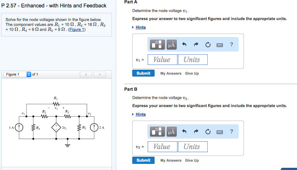 Solved: Part A P 2.57 Enhanced With Hints And Feedback Det ...