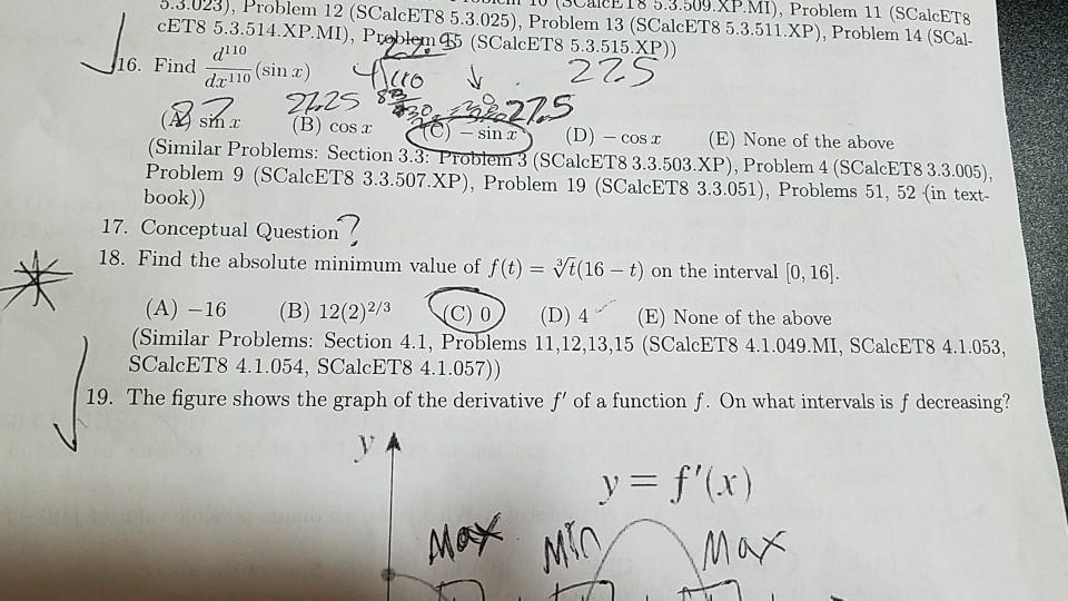 Solved: 3 3 023), Problem (3CaleB18 5 3 309 XP MI), Ll 10