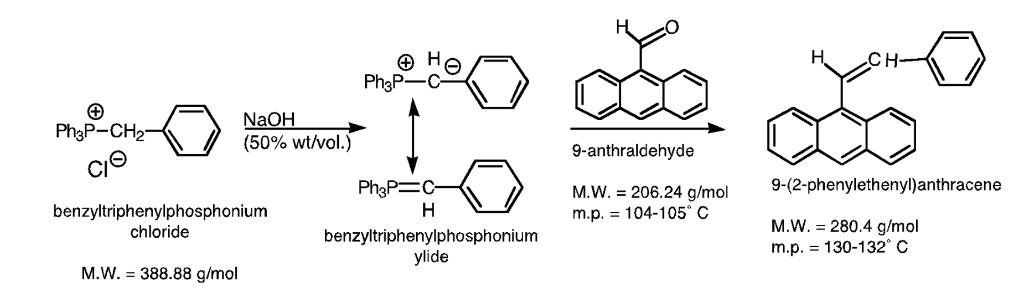 Ph3P CH2 Cl NaOH 50 Wt Vol 9 Anthraldehyde