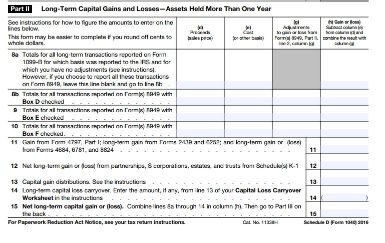 Solved Prepare A 2016 Form 1040 For The Individual Below