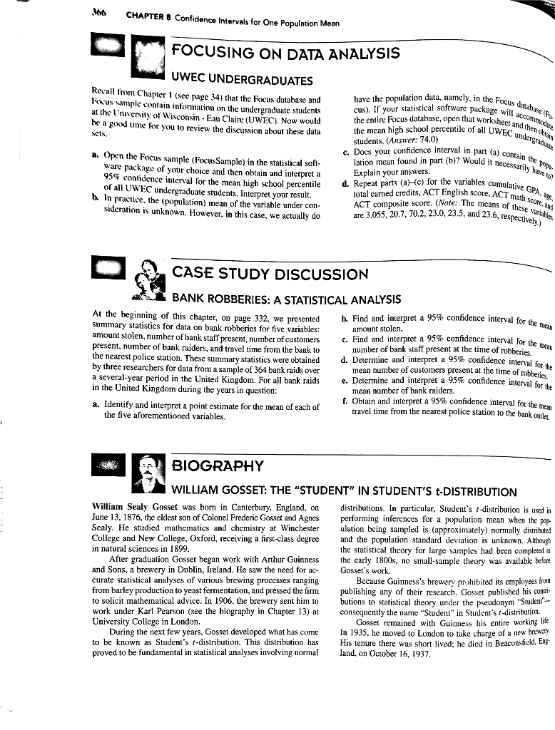 Solved: Request Solution To Chapter 8 Case Study Discussio
