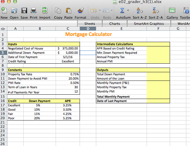 solved exp ech02 h3 mortgage calculator 1 3 project des