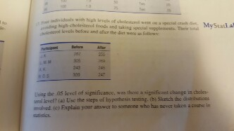 I need help with statistics