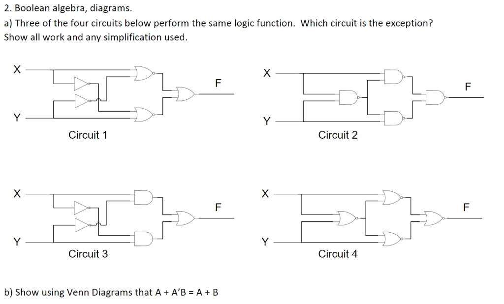 Boolean algebra simplification questions and answers pdf