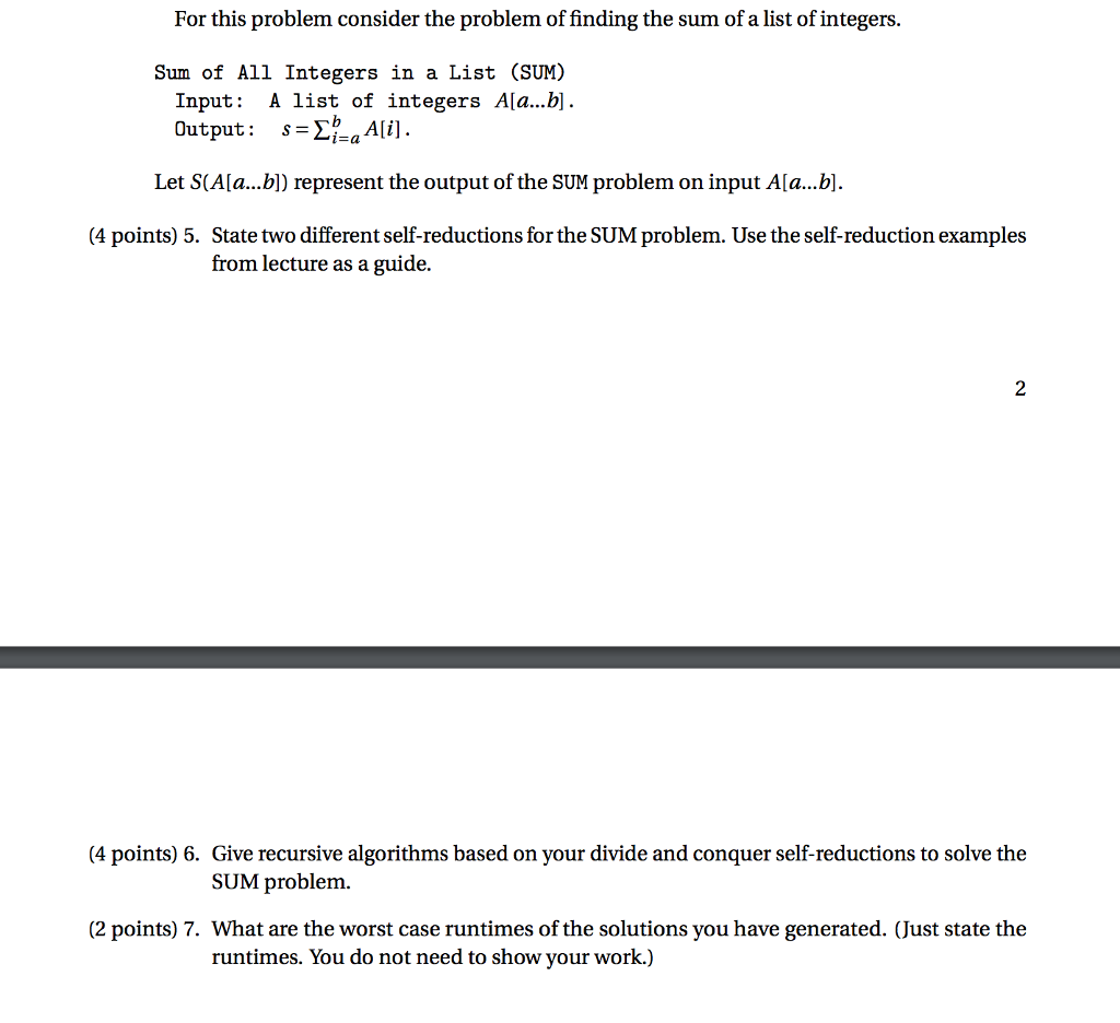 Solved For This Problem Consider The Problem Of Finding T