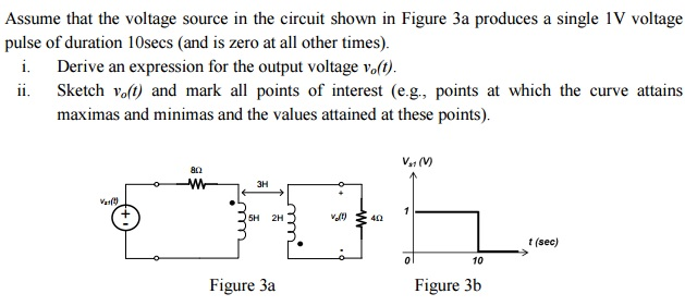 Assume that the voltage source in the circuit show