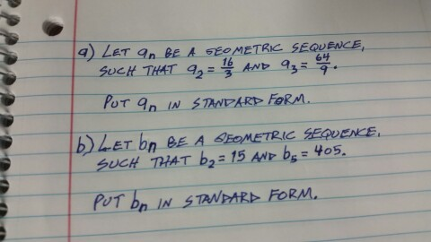 Solved Let An Be A Geometric Sequence Such That A2 1
