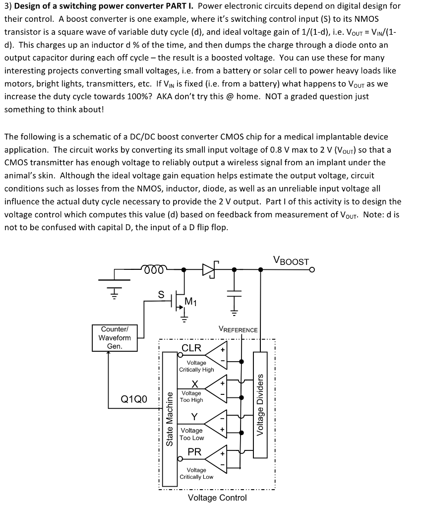 3 Design Of A Switching Power Converter Part I P Electronic Circuits Depend On
