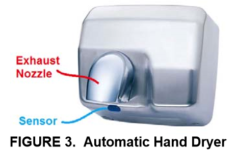 Solved An Automatic Hand Dryer Often Seen In A Restroom - Hand blower for bathroom