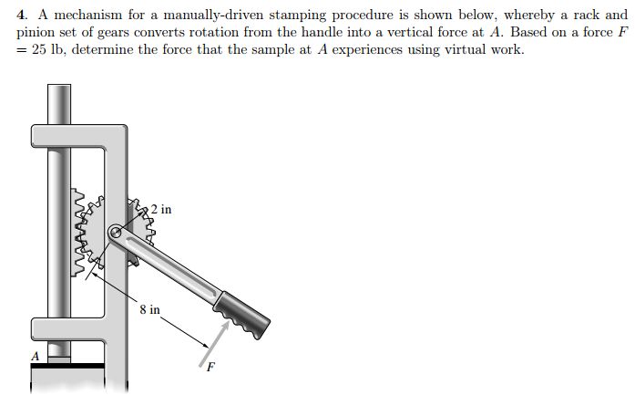 rack and pinion mechanism pdf