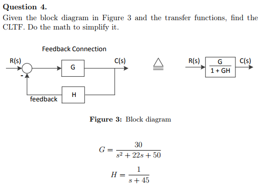 Block diagram math trusted wiring diagram solved question 4 given the block diagram in figure 3 and math check block diagram math ccuart Gallery