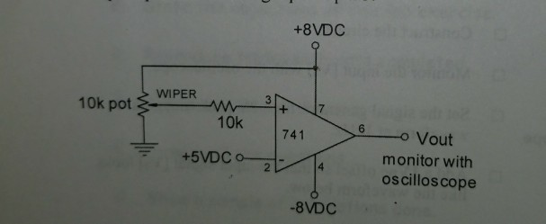 Solved: Op-amp Level Detector 1)what Would Happen If The V