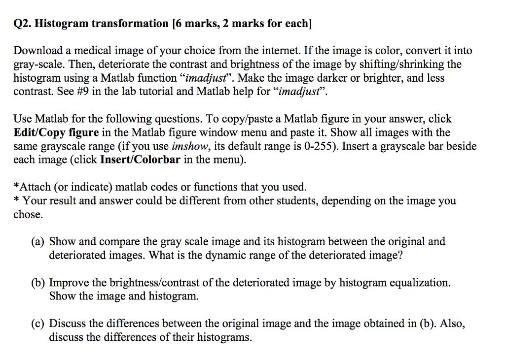🏷 Dynamic histogram equalization matlab code | Histogram