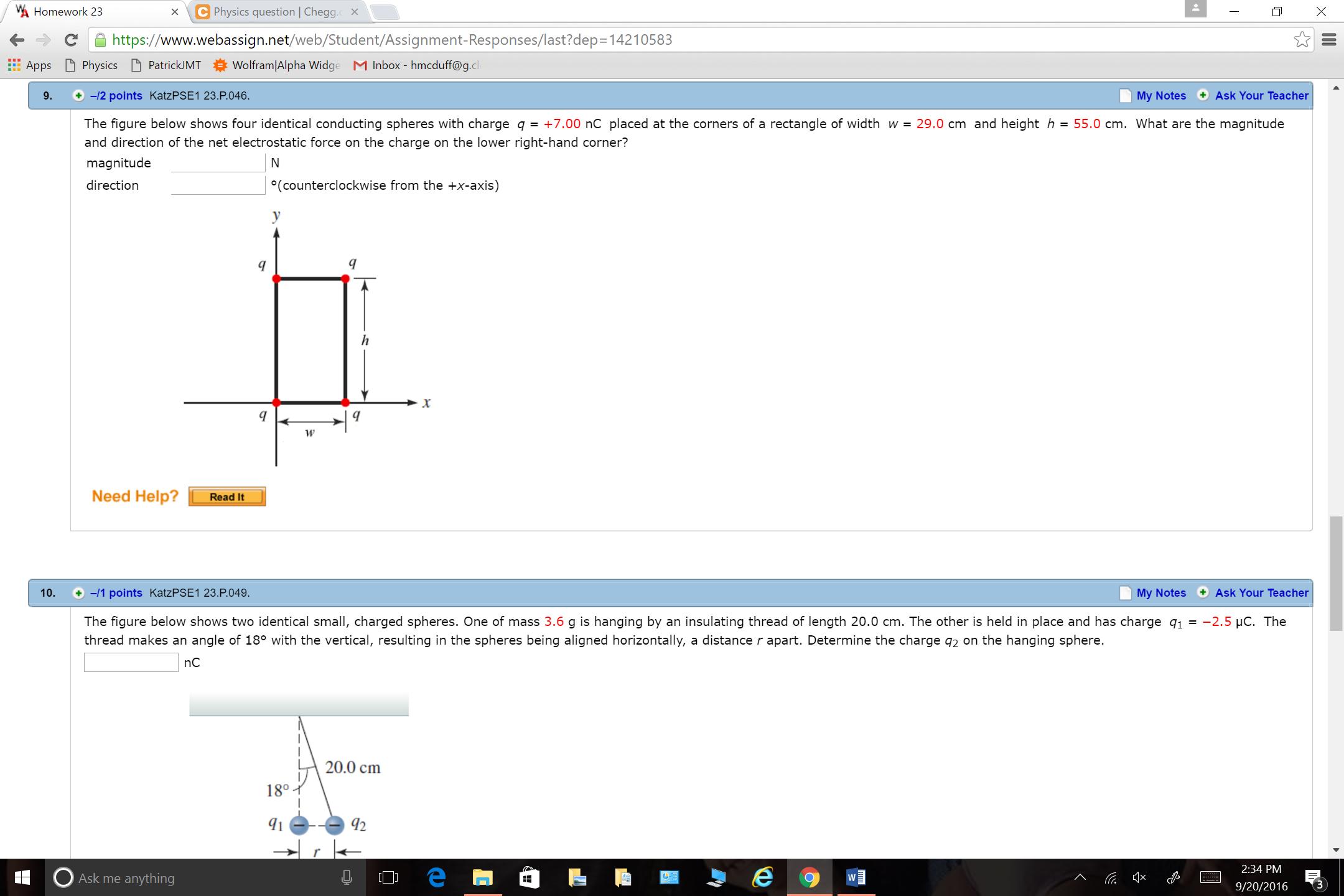 wa homework 23 c physics question x c com show transcribed image text wa homework 23 c physics question x c web student assignment responses last dep 14210583 webassign net