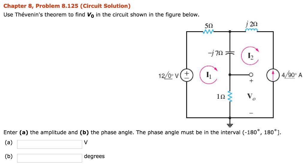 chapter 8 problem 1