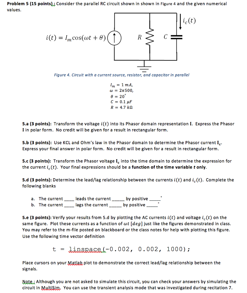 Solved Consider The Series Rl Circuit Shown In Figure 3 A Wiring Diagram Is Used To Troubleshoot Problems And Make Sure Problem 5 15 Points Parallel Rc 4