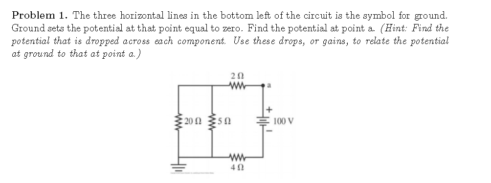 Solved The Three Horizontal Lines In The Bottom Left Of T