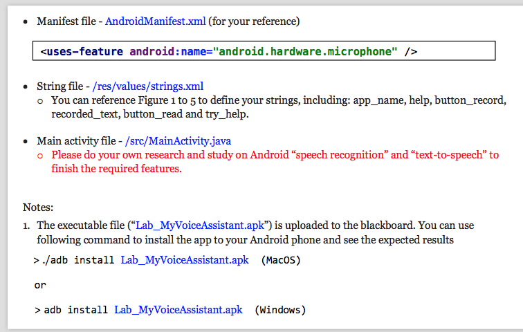 Solved: In Android Studio, Use Features Of Speech Recognit