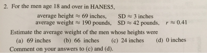 For The Men Age 18 And Over In Hanes5 Average Hei