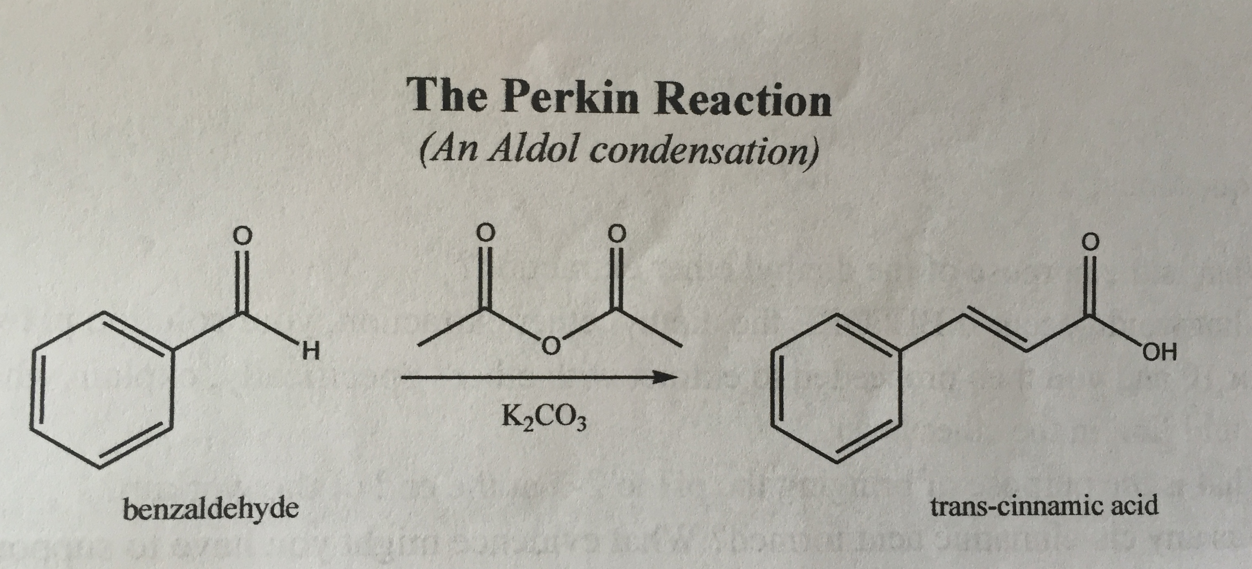 perkin reaction synthesis of phenylcinnamic acid Stilbenes preparation and analysis perkin reaction formation of hydroxystilbenes in lieu of a-phenylcinnamic acid reveals an interesting.