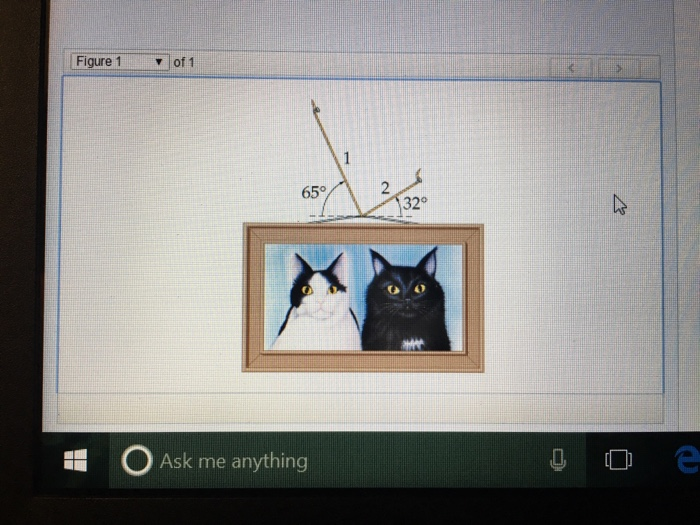 Solved Predictcalculate Problem 632 Ip A Picture Hangs