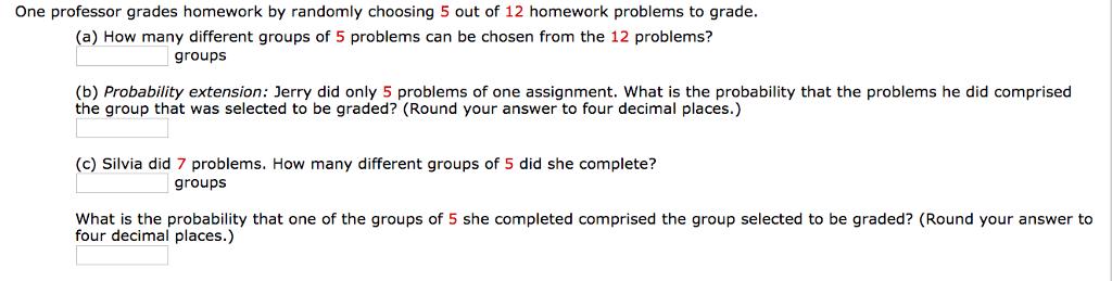 how to grade homework