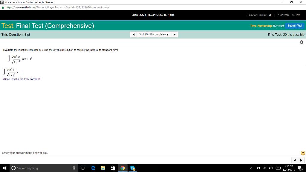 Solved: Ke A Lest Sundar Gautam Gooole Chrome Https://www ...
