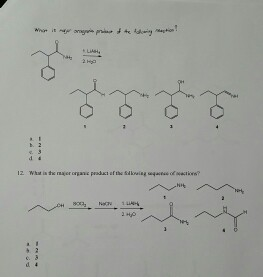 What is major product of the following reaction?