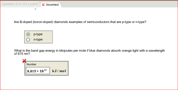 Image For Are B Doped Boron Doped Diamonds Examples Of Semiconductors That