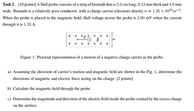 Calculate the electric field strength at point A What