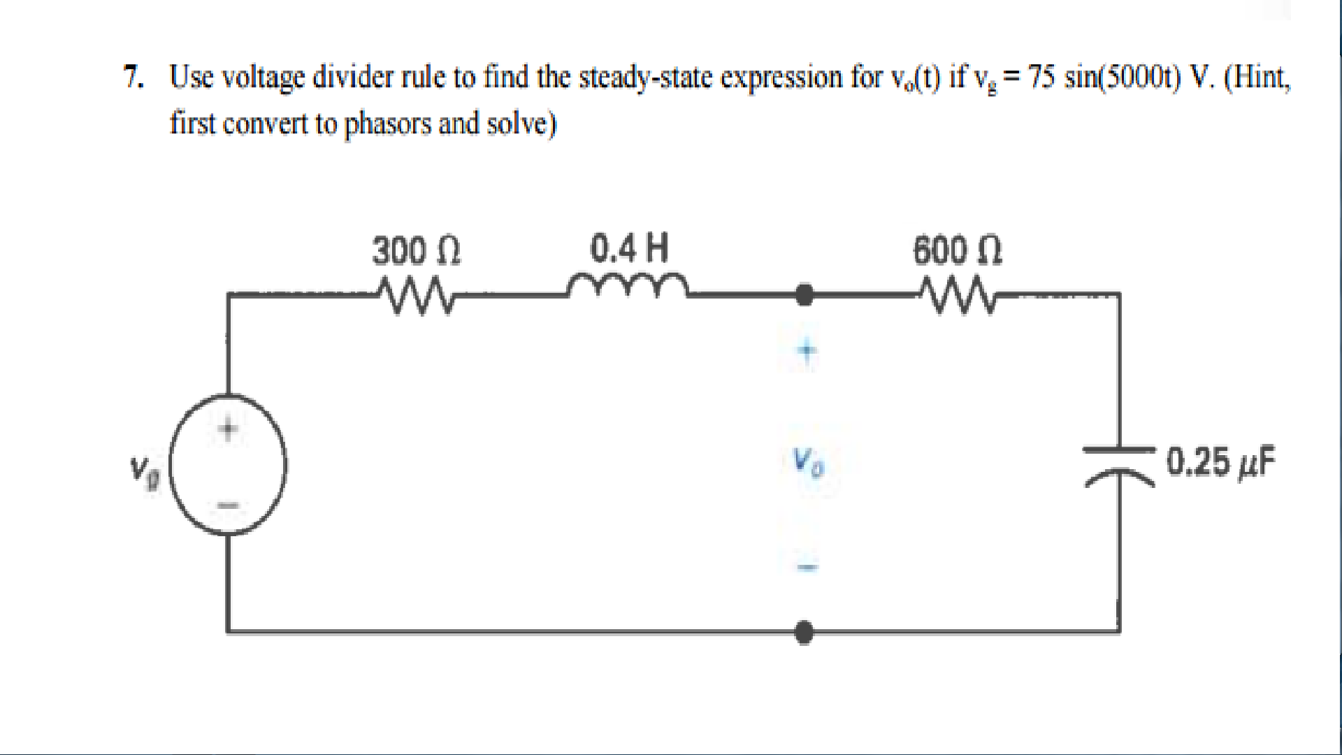 when to use voltage divider rule