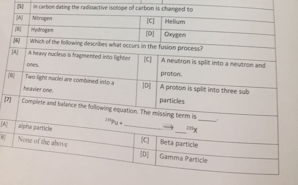 radioactive isotopes in carbon dating