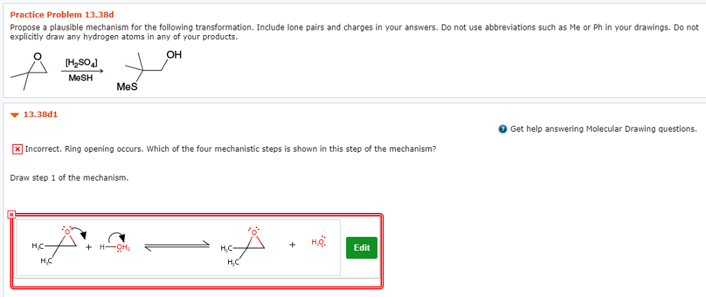 ecd5fc1740b5 Solved: Practice Problem 13.38d Propose A Plausible Mechan ...