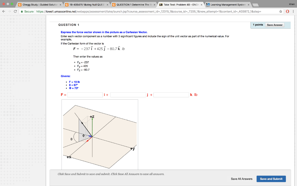 Solved: E Chegg Study Guided Sal T × ▽ E 18 405475 1&steg