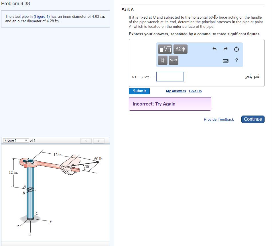 Problem 938 The Steel Pipe In (figure 1) Has An Inner Diameter Of 403