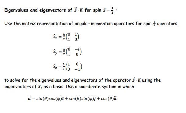 Spin Operator